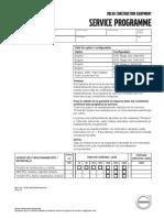 Programa Servicio Ec300d