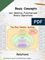 Four Basic Concepts
