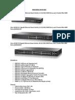 Cotizacion Cisco