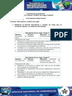Evidencia 2 Formato Descripcion y Analisis de Cargo