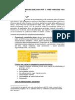 Competencias en Lenguaje Evaluadas Por El Icfes Como Base Para Evaluación Interna