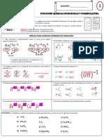 Funciones Químicas Inorgánicas y Nomenclatura