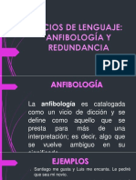 Anfibologia y Redundancia