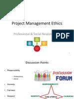 Project Management Ethics