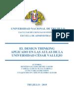 EL DESIGN THINKING APLICADO A UNA UNIVERSIDAD