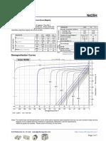 N42SH Grade Neodymium Magnets Data