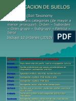 Clase Edafologia - Taxonomia de Suelos