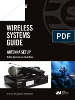 Wireless Systems Guide for Antenna Setup English