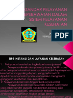 Standar Pelayanan Keperawatan Dalam Sistem Pelayanan Kesehatan