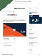 SNAT vs DNAT _ Source NAT vs Destination NAT _ GNS3 Network