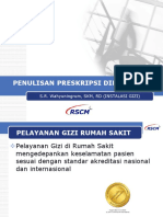 S.R. Wahyuningrum, SKM, RD (INSTALASI GIZI) Penulisan Preskripsi Diet Pasien (Sep 2018)