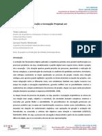 LOBOSCO-MACHADO - Plataformas de Exploração e Concepção Projetual Em RV