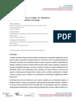 LOBOSCO-MORITANI-CELSO - Interação Físico-Digital No Projeto de Arquitetura Materialidade, Virtualidade e Concepção.