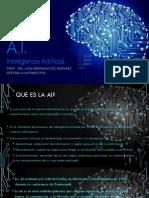Inteligencia Artificial INTRODUCCION