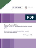 Guía de practica clínica colombiana