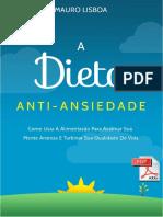 A Dieta Anti Ansiedade