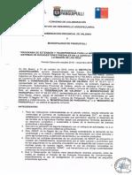 Gobernacion y Municipio Panguipulli Los Ríos 2019
