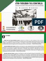 Material Didático Movimento Negro Brasileiro - ProfHist2019