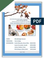 Monografia Microbiologia de Los Alimentos