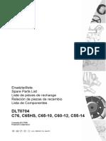 COMPAIR C76 Portable Air Compressor 275CFM spare parts breakdown.pdf