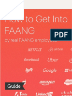 How to Get Into FAANG