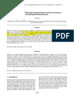 Jogoboyo, Prevalensi Gen TEM Pada Extended-Spectrum Beta-Lactamases