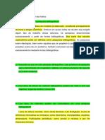 Questões de metodologia do trabalho  cientifico