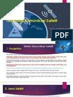 Teknologi Komunikasi Satelit