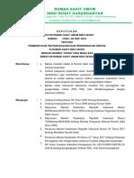 Sk Tim Pencegahan Dan Pengendalian Infeksi