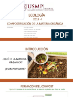Compostificación de La Materia Orgánica