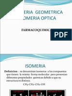 Isomeria Optica en Medicamentos
