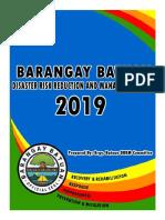 2019 Brgy Batuan Drrm Plan