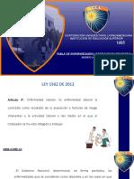 Decreto 1477 de 2014_tabla de Enfermedades Laborales