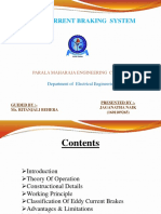 Ppt of Eddy Current Braking System