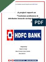 30849414 HDFC Bank Summer Project