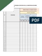 Instrumentos de Valoracion Escritura Comunicacion Primaria