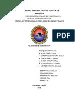 monografia desarrollo organizacional