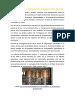 Importancia de La Fermentación Alcohólica en La Indutria y Concepto Fermentacion Acetica