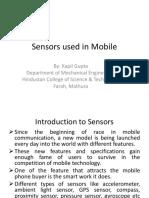Sensors used in Mobile.pptx