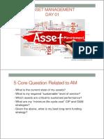 Asset Management Day 01