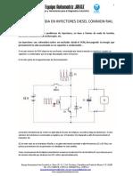 Grafica de La Señal de Inyección Diesel