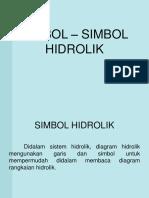 3. Simbol Hidrolik