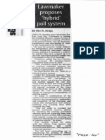 Manila Standard, Oct. 21, 2019, Lawmaker proposes hybrid poll system.pdf