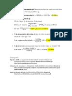 Calculos Seminario Quimica II