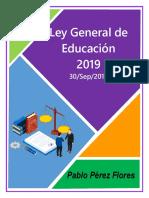 01 Portadas LEYES Ley General de Educ.