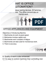 What is Office Automation 1