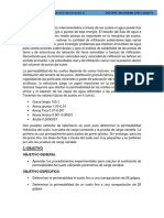 Informe 5 Permeabilidad
