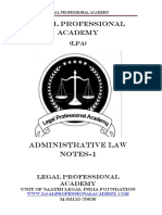 Adminsitrative Law