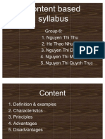 77570771 Content Based Syllabus 2 2