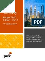 TaXavvy Budget 2020 Part 1